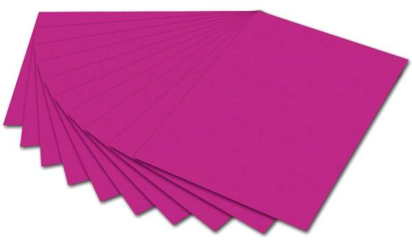 FOLIA Fotokarton 50x70cm pink 6123 E 300g