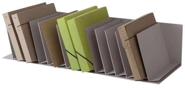 Schrägablage für Rolladenschrank easyOffice grau