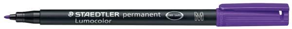 STAEDTLER Folienstift Lumocolor M violett 317-6 permanent
