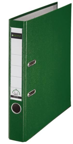 1015 Ordner Plastik A4, 52 mm, grün