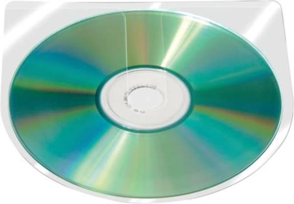 Q-CONNECT CD-Hülle selbstklebend 100ST KF27031