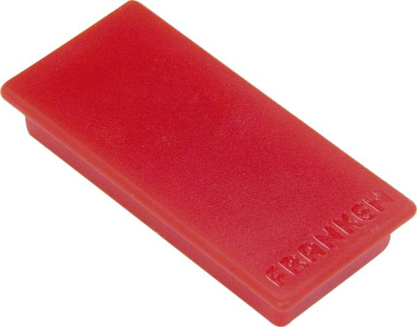 Magnet, 23 x 50 mm, 1000 g, rot