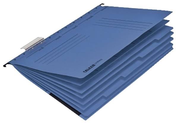 FALKEN Hängemappe Personalhefter A4 blau 15046527 230g UniReg 7 Fächer