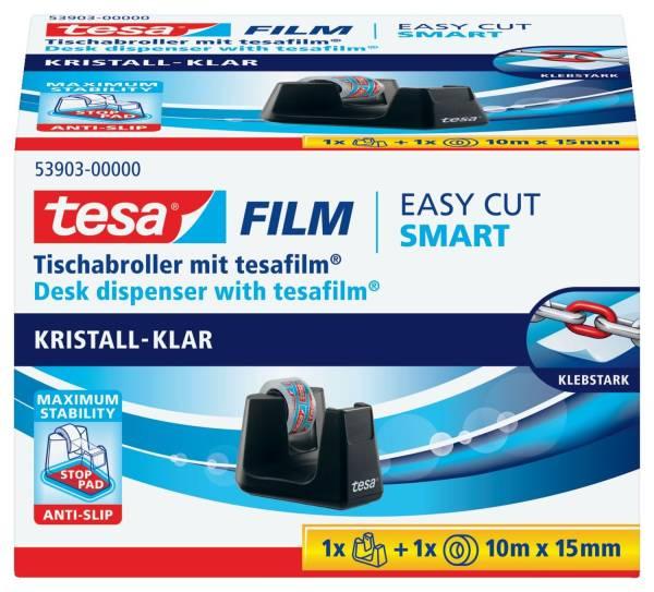 TESA Tischabroller +1RL schwarz 53903-00000-00 Smart eco