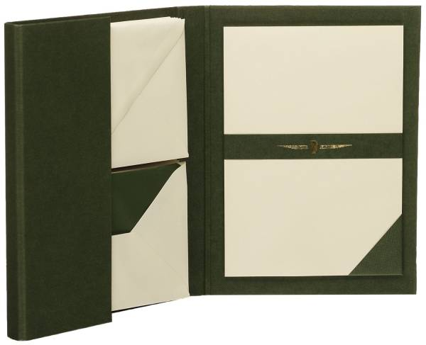 RÖSSLER Briefmappe A5/C6 grün 1026831008