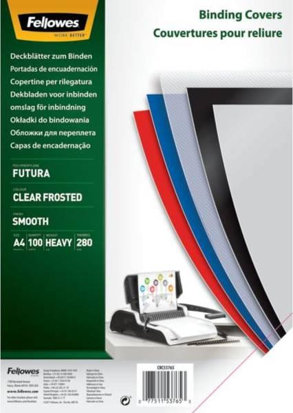 Deckblätter Fantasie A4, PP, transparent matt,100 Stück