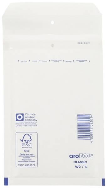 Luftpolstertaschen Nr 2, 120x215 mm, weiß, 200 Stück