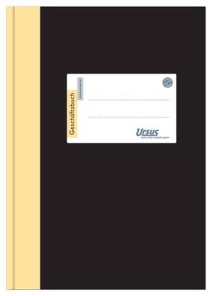URSUS Geschäftsbuch A5 96BL liniert 608374
