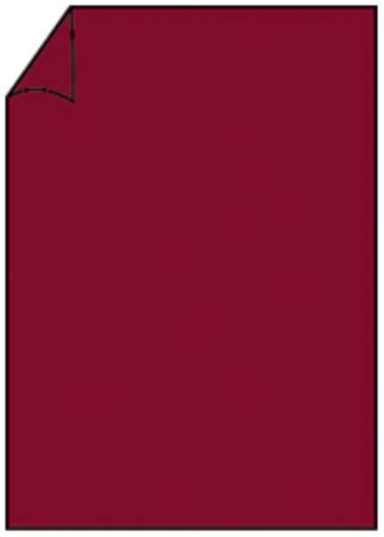 RÖSSLER Briefbogen A4 80g 10ST rosso 220701572
