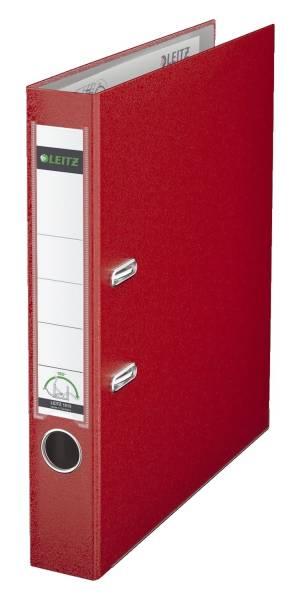 LEITZ Ordner Plastik A4 5cm rot 1015-50-25 180° Mechanik