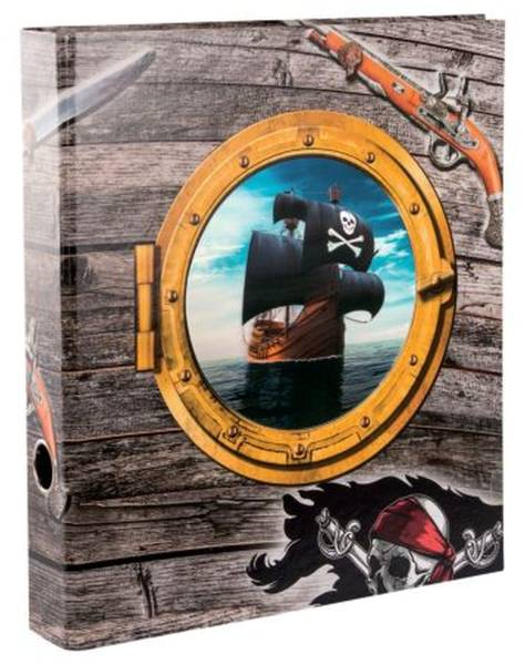 GOLDBUCH Ordner A4/5cm 3D Piraten! 35 177