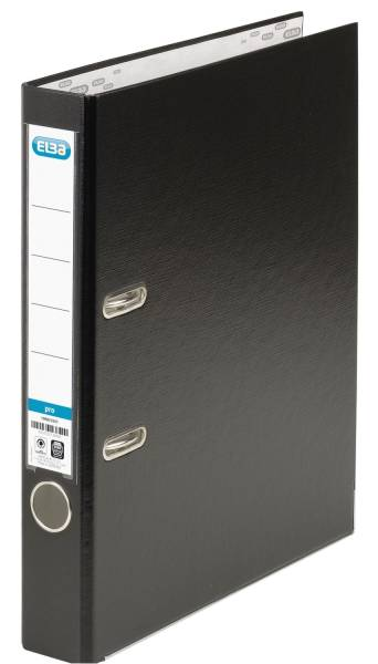 Ordner smart Pro (PP Papier) A4, 50 mm, schwarz