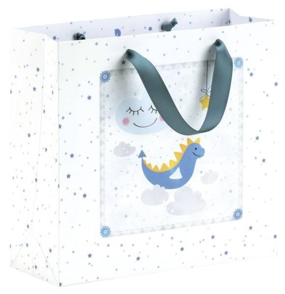 RÖSSLER Geschenktragetasche My little Star Boy 13681327000 210x200mm