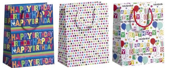 ZÖWIE Geschenktragetasche Geburtstag 3ST sort. 70020 36408
