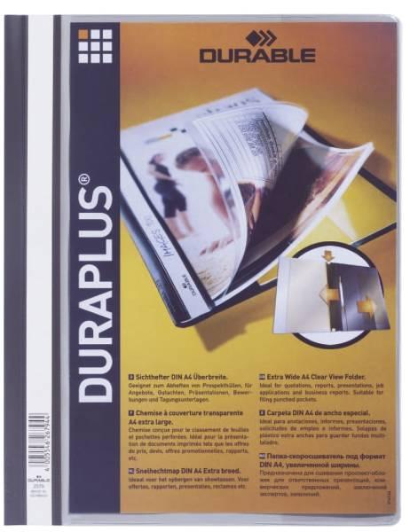 Angebotshefter DURAPLUS, strapazierfähige Folie, A4+, grau®