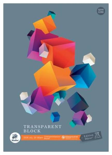 Transparentblock A3 25 Blatt 80g qm