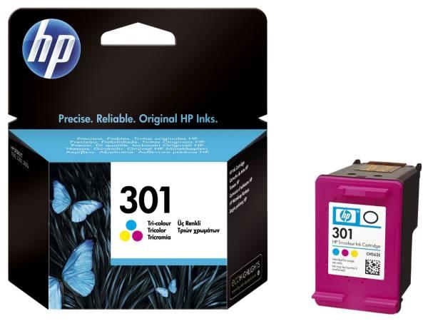 HP Inkjetpatrone Nr. 301 3-färbig CH562EE 3ml