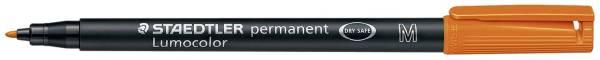 STAEDTLER Folienstift Lumocolor M orange 317-4 permanent