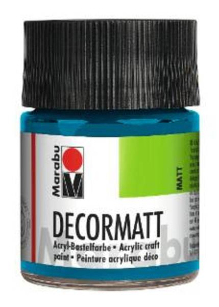 Decormatt Acryl, Cyan 056, 50 ml