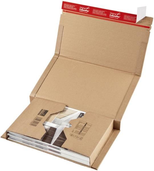Klassische Versandverpackung zum Wickeln 380x290x80 mm (B4), braun