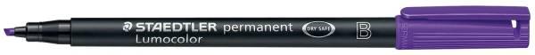Feinschreiber Universalstift Lumocolor permanent, B, violett®
