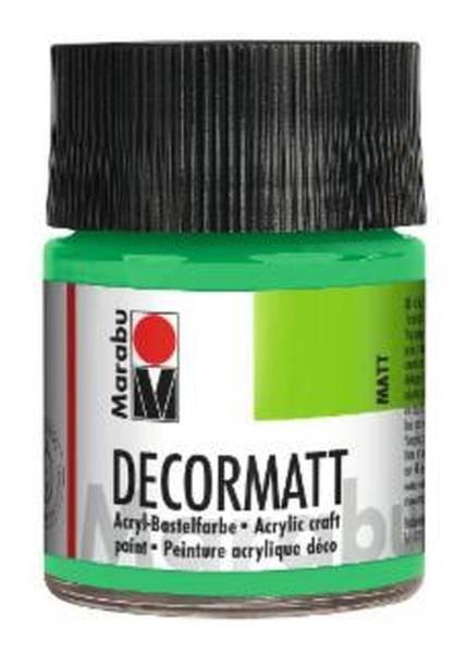 Decormatt Acryl, Hellgrün 062, 50 ml