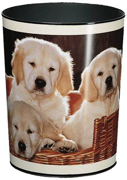 Papierkorb 13 L, Hunde