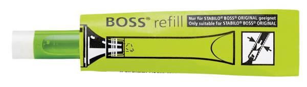 STABILO Textmarker Patrone Boss 3ml grün 070-33 Nachfüllsystem