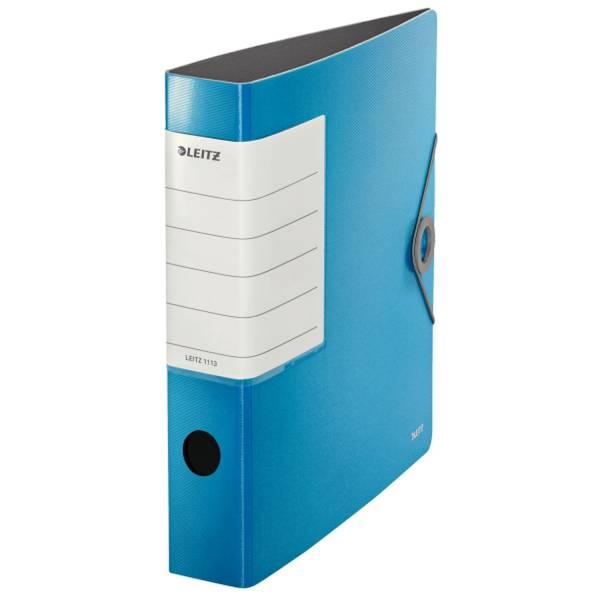 LEITZ Ordner Solid A4 6cm hellblau 1113-00-30
