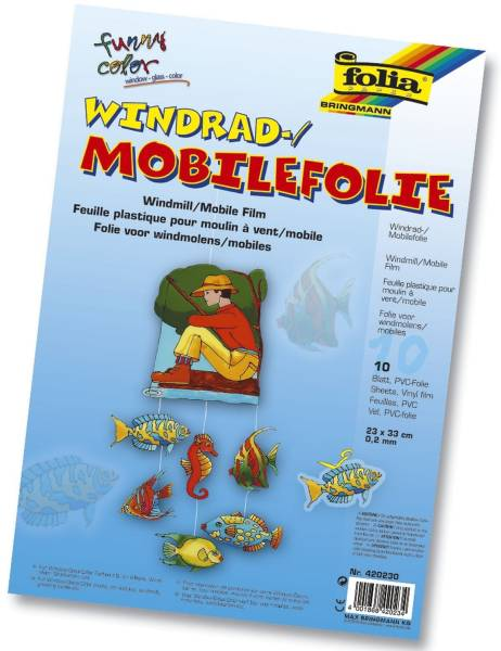 FOLIA Mobilefolie 0.2mm 50x70cm 420500 transparent