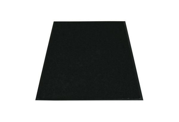 Eazycare Schmutzfangmatte für Innen, 60 x 90 cm, schwarz, waschbar