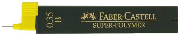 FABER CASTELL Feinmine SuperPolymer B 0.35 120301 12St