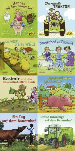 CARLSEN Bilderbuch Pixi Serie 208 105208 Bauernhof