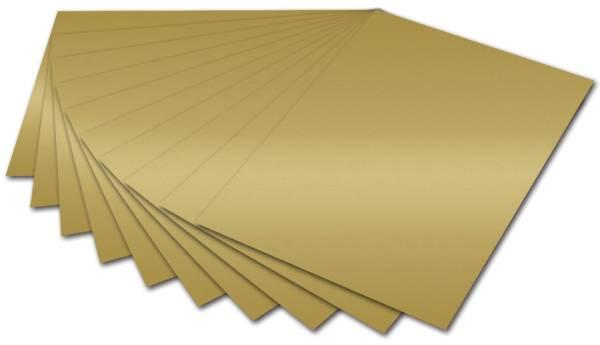Tonpapier A4, gold glänzend
