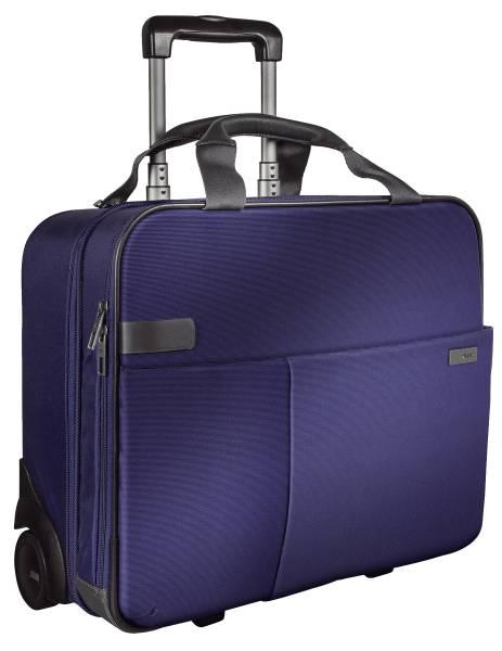 Complete Handgepäck Trolley Smart Traveller Polyester, titan blau