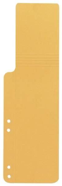 Q-CONNECT Aktenschwanz 100ST gelb KF15770 9040115