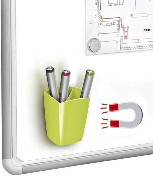 CEP Schreibköcher magnet. grün 1005310301 530M G
