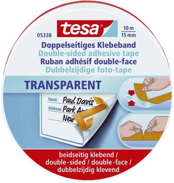 TESA Doppelklebefilm 15mm 10m IX 05338-00000-01 rote Dose