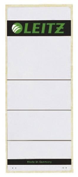 1647 Rückenschilder breit extra kurz, 61 x 157 mm, hellgrau