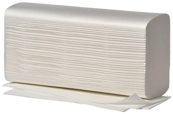 Handtücher Comfort Multi Interfalzung (W), 2 lagig, hochweiß, 20 x 125 Blatt