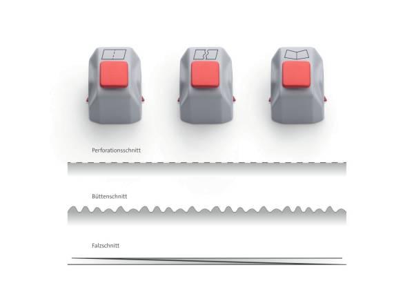 DAHLE Messerkopf Creativset für 507 00980-14986