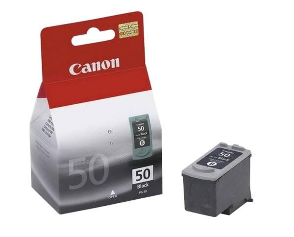 CANON Inkjetpatrone PG-50 schwarz 0616B001 22ml