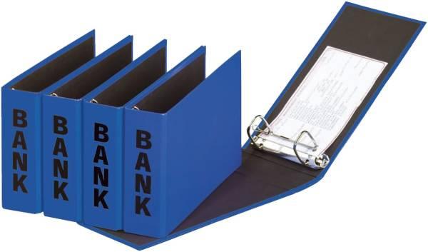 Bankordner Color Einband A5 , 50 mm, Color Einband, blau