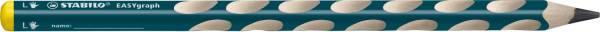 STABILO Bleistift EASYgraph 2B links petrol 321/2B-6