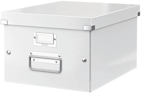 Archivbox WOW Click & Store für A4, weiß