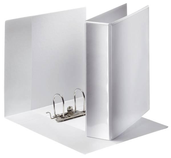Ordner Panorama, Papier, A4, breit, weiß