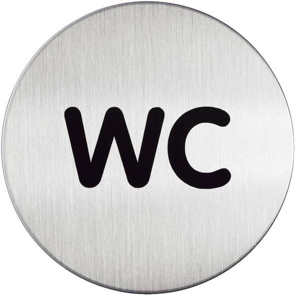 DURABLE Hinweisschild WC 4907 23 D83mm