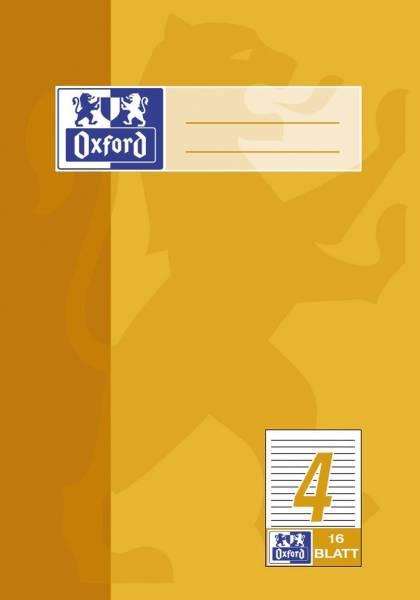 Heft A5 16 Blatt Lineatur 4