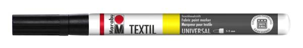 MARABU Stoffmalstift schwarz 0116 03 073 1-2mm