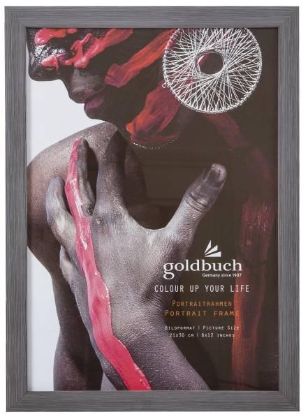 GOLDBUCH Bilderrahmen Colour up dunkelgrau 910805 f. 21x30cm
